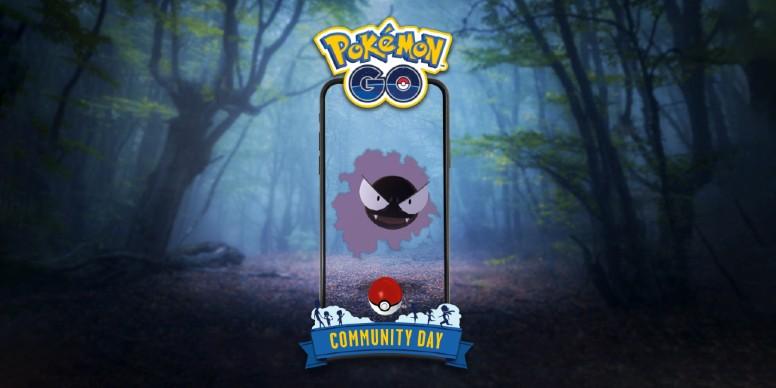 Gastly Dia Comunitário Pokémon GO