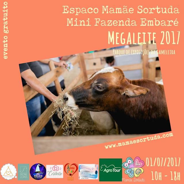 Mini Fazenda, Parque de Exposições da Gameleira, Megaleite, Roteirinho da Sorte, Eventos, Mamãe Sortuda, Programa Agrotour, Espaço Mamãe Sortuda