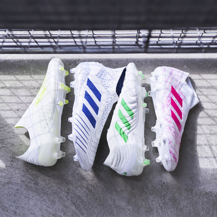 brand new f73ac f3eeb White Adidas 2019 Virtuoso Pack Football Boots Released ...