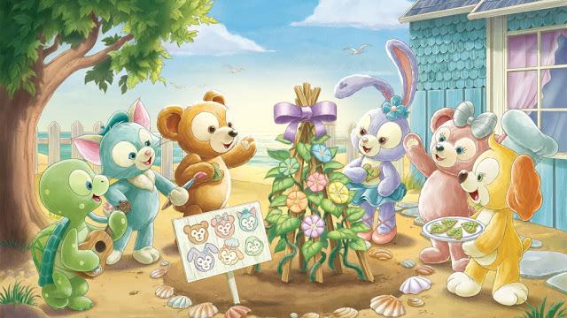 Disney, Disney Parks, Duffy And Friends, Duffy, ShellieMay, Gelatoni, StellaLou, Cookie, CookieAnn,  'Olu, 'Olu Mel, 迪士尼