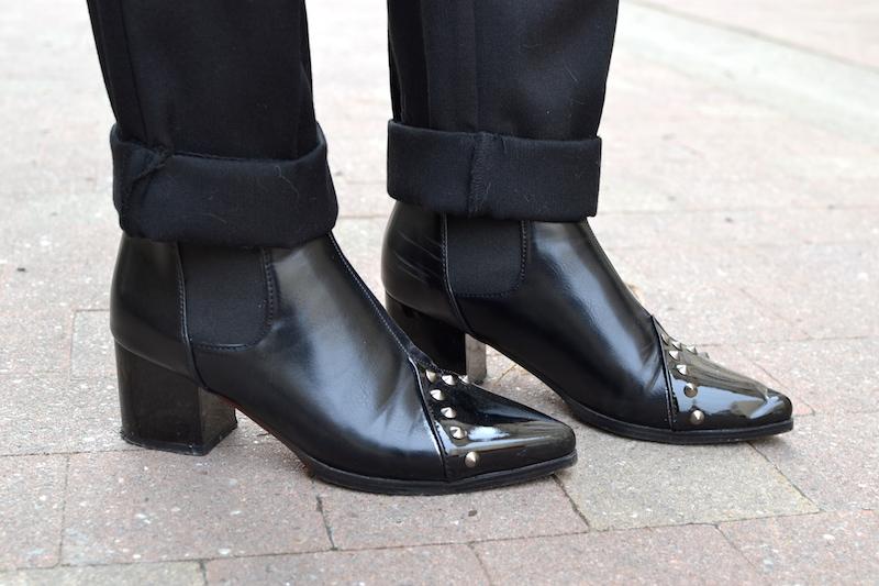 boots noire Dresslily
