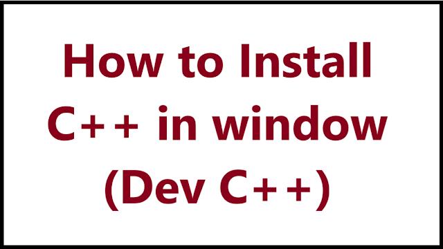How to install C++ - Algomentor