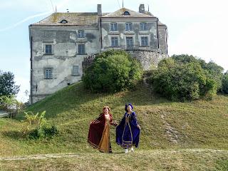 Олеско. Львовская обл. Замок, памятник архитектуры XIV-XVII веков