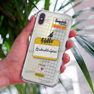 Mockup Softcase iPhone X gubukhijau