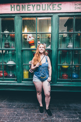Courtney Tomesch Wizarding World of Harry Potter Hollywood