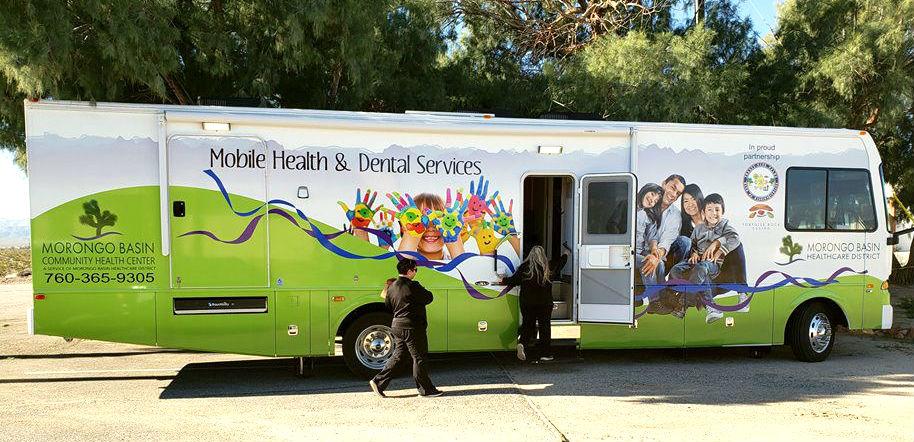Wonder Valley, CA: Mobile Medical Unit at WVCC