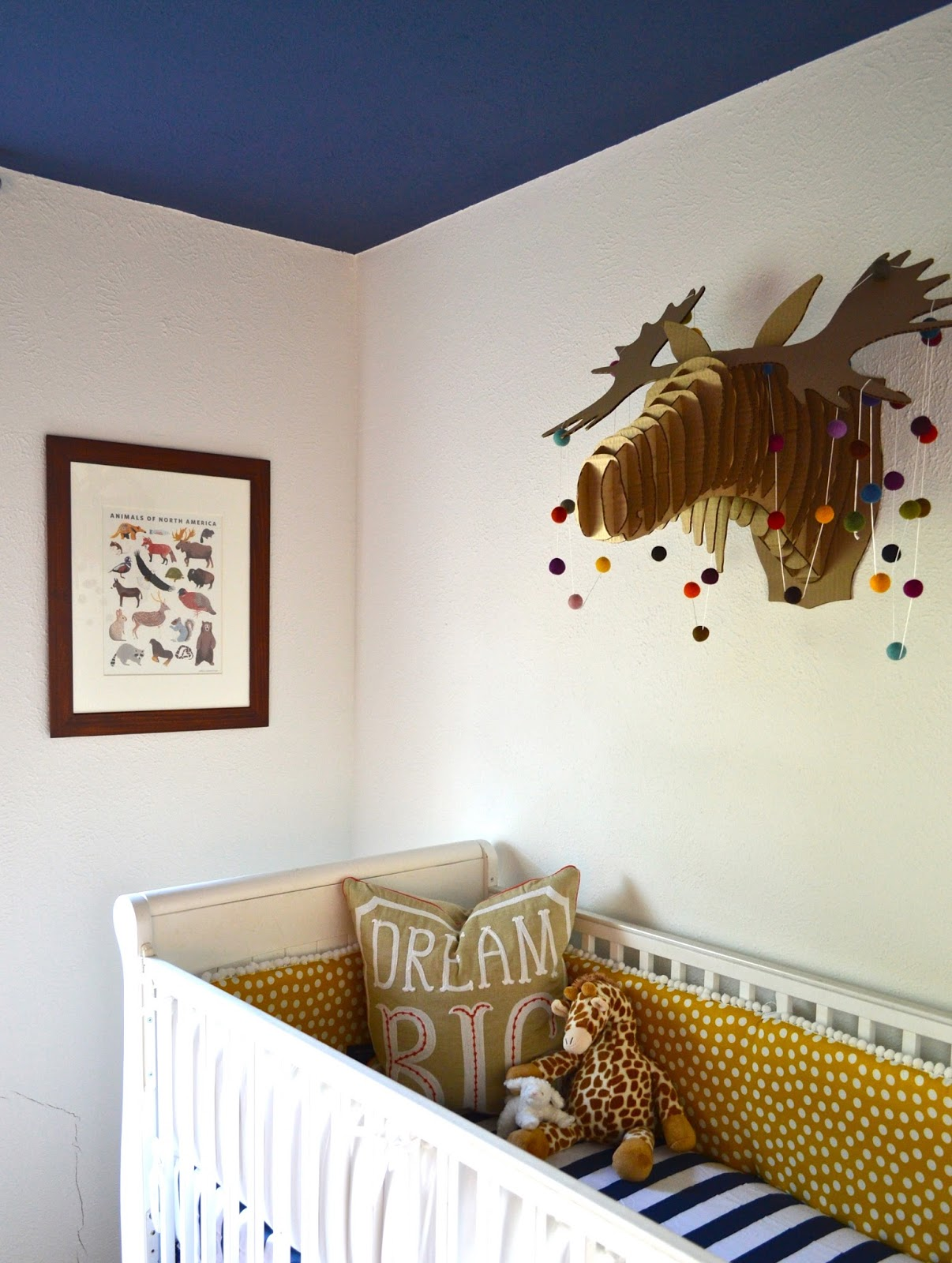 Wonderfully Made A Wonderful Whimsical Woodland Nursery Baby Boy S Nursery Reveal