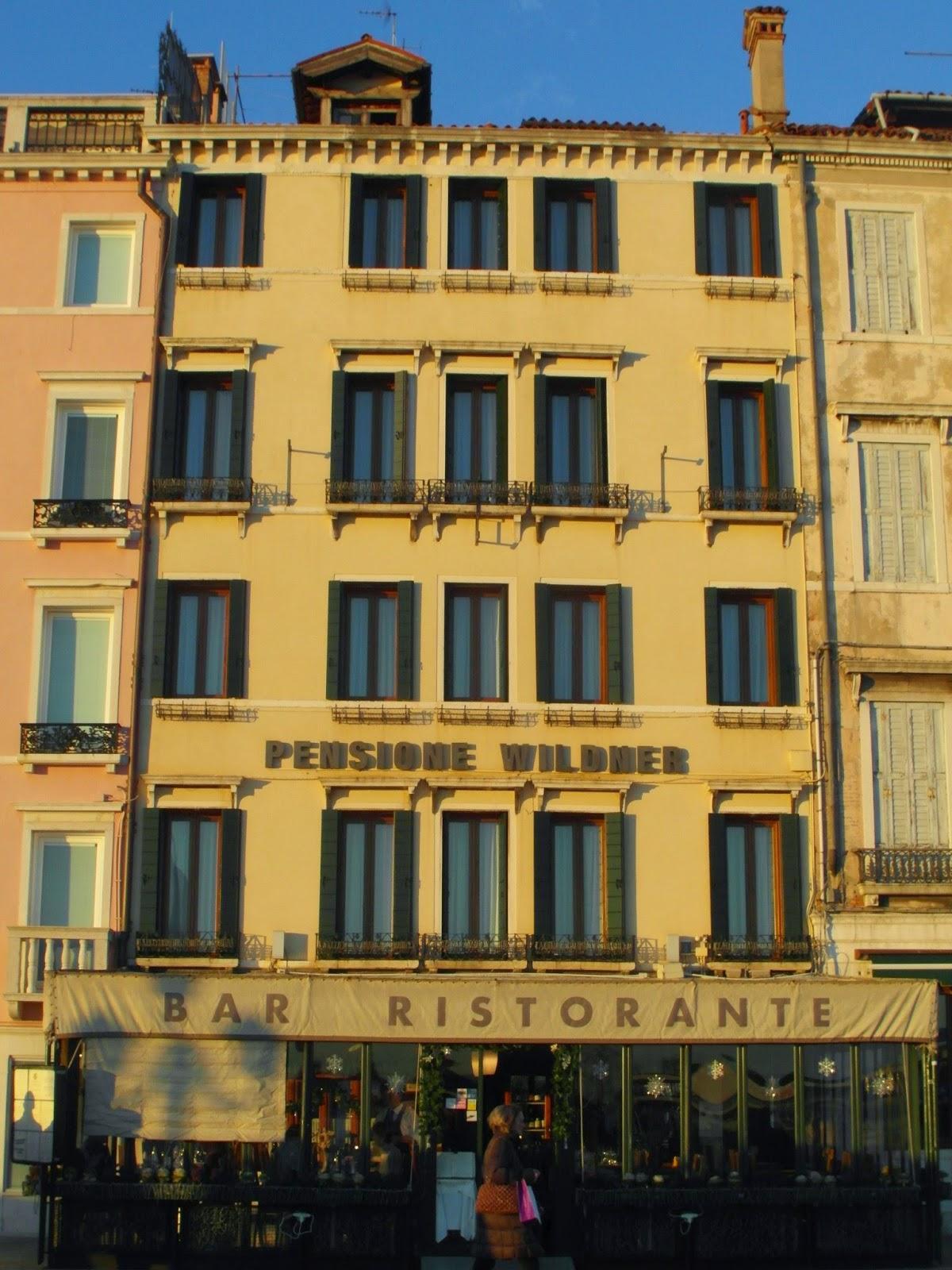 Pensione Wildener, Venice