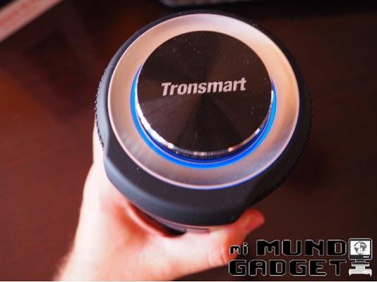 Tronsmart T6 Plus: diseño cilíndrico, robusto y premium