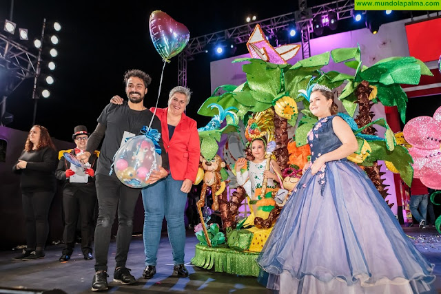 """""""En busca de la especie perdida"""" se proclama fantasía ganadora de la Gala Infantil del Carnaval de Los Llanos de Aridane"""