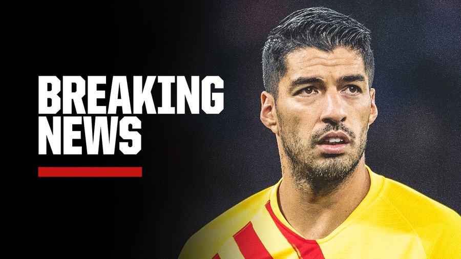 BREAKING! Barcelona Confirm Luis Suarez Ruled Out For Four Month Due To Injury (Details)