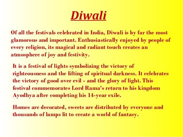 Essay on diwali vacation in english