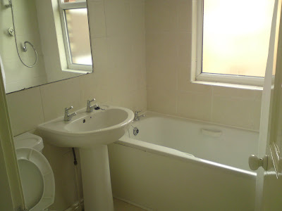 A before look at our bathroom