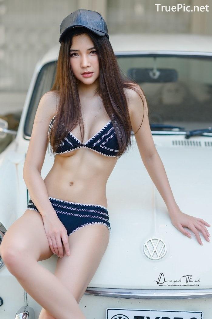 Image Thailand Model - Phitchamol Srijantanet - Triangle Bikini Tops - TruePic.net - Picture-10