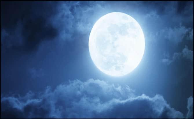 luna azul,