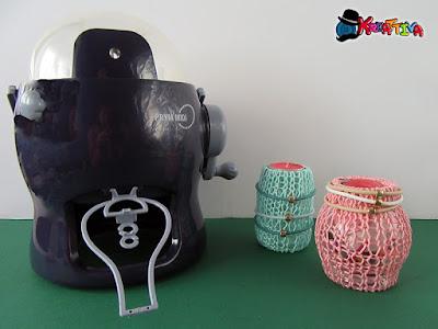 Mulinetto per maglia strumento creativo dedicato a chi non sa usare i ferri da maglia