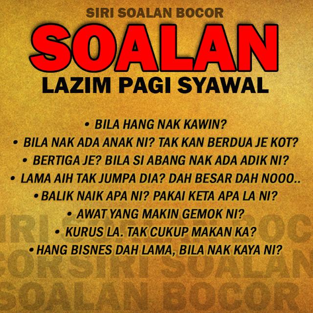 Soalan Lazim Bila Balik Kampung?! [Berserta Jawapan] #Raya #Syawal #Ramadhan