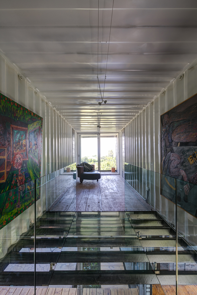 Casa RDP - Shipping Container Industrial Style House, Ecuador 23