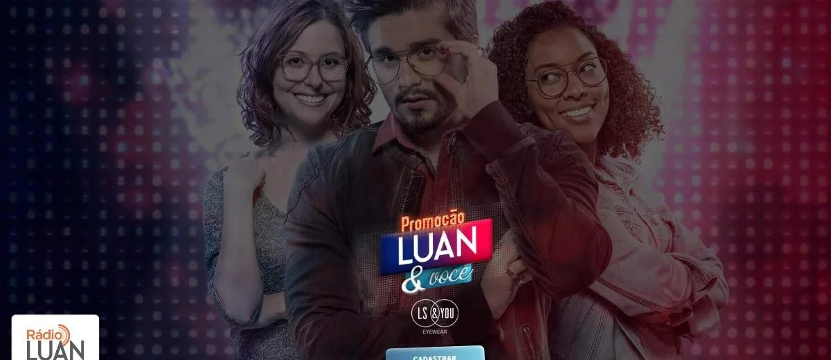 Promoção Luan e Você Mercadão Óculos 2020 Conhecer Luan Santana e Assistir Show
