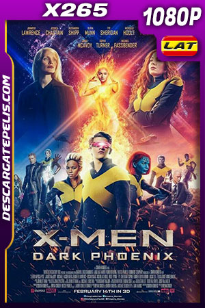 X-Men: Dark Phoenix (2019) HD 1080p x265 BDRip Latino – Ingles