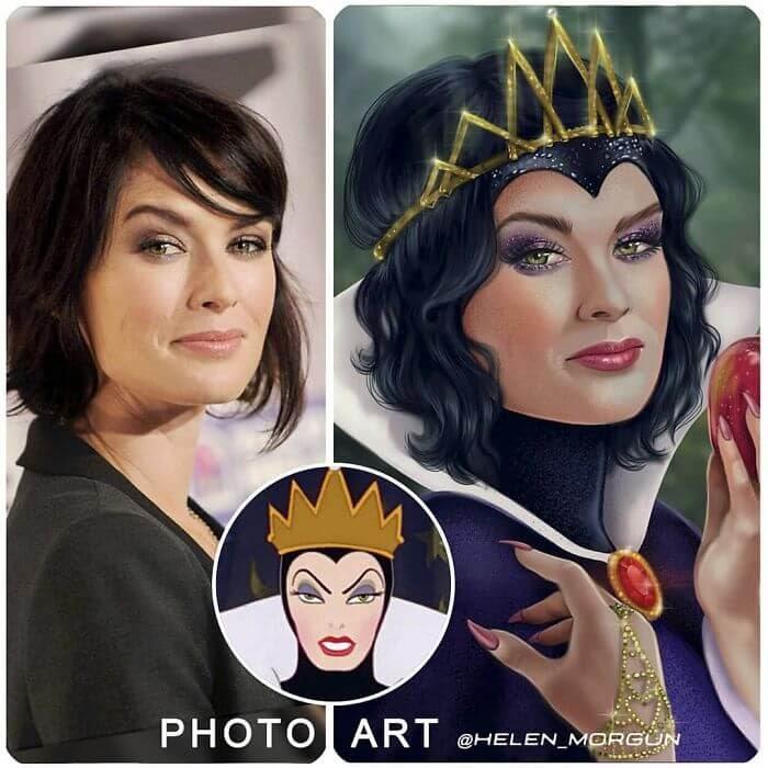 05-Lena-Headey-As-Evil-Queen-Helen-Morgun-Celebrities-and-Disney-www-designstack-co