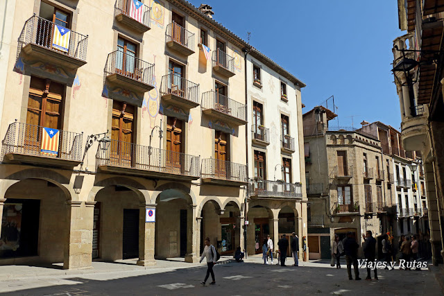 Plaza mayor de Solsona