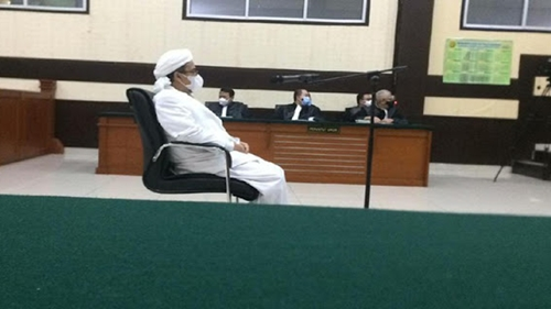 Akui Salah Dakwaan, Jaksa Minta Maaf Ke Habib Rizieq