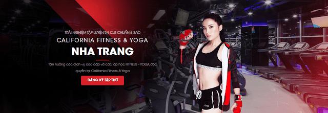 F/Phòng tập California Gym đang hoạt động tại thành phố Nha Trang