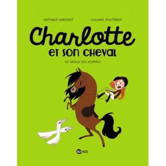 Charlotte et son cheval de Nathalie Dargent et Colonel Moutarde