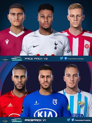 PES 2021 FacePack V1 & V2 by CongNgo
