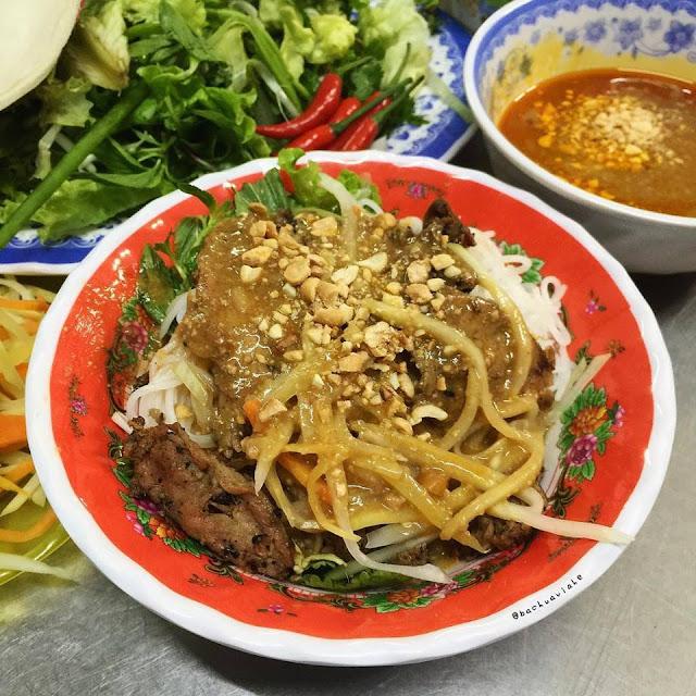 Bún thịt nướng - Bà Trai - Số 194 Đống Đa, Hải Châu, Đà Nẵng