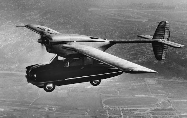 Convair, o carro voador, 1946