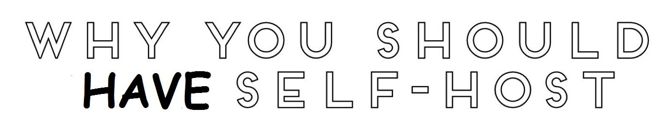 5 Alasan Mengapa Para Blogger menggunakan Self Host Untuk Blog