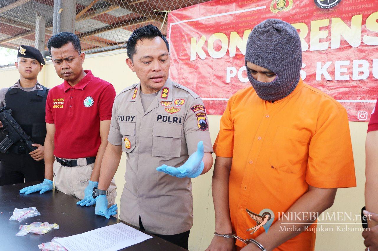 Warga Cilacap ini Ditangkap Polisi Karena Edarkan Pil Hexymer