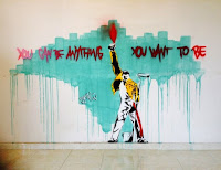 Grafite de Freddie Mercury