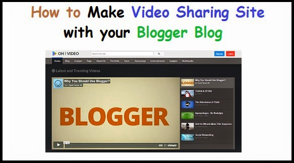 Video Sharing with Blogger