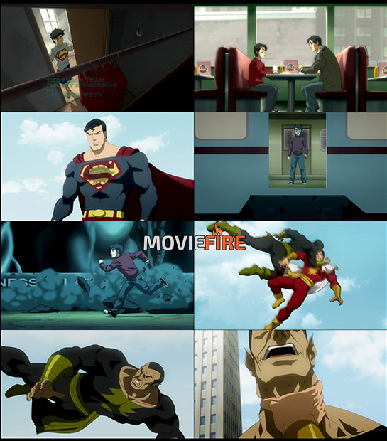 Superman/Shazam!: The Return of Black Adam (2010) 1080p