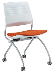 White Training Room Chair