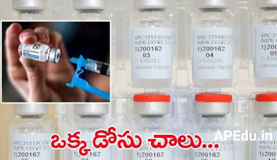 Another vaccine is coming in India .. one dose is enough ..!