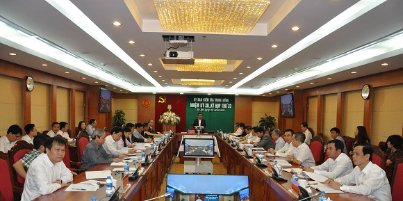 Thông cáo Báo chí Kỳ họp 32 của Ủy ban Kiểm tra Trung ương