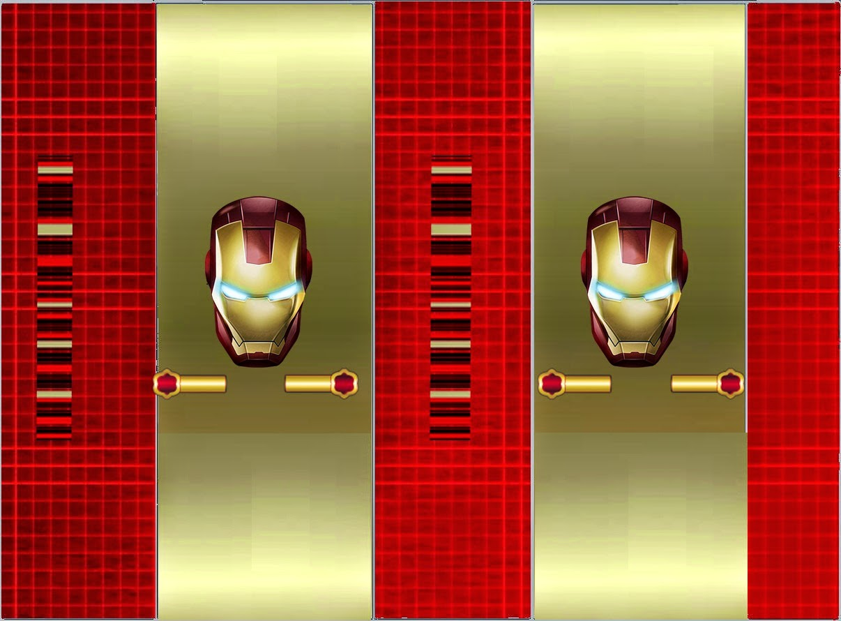 Iron Man Birthday Party: Invitations, Labels and Free Party ...