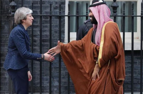 ضغط متزايد على بريطانيا للتخلي عن التدريبات المشتركة مع السعودية