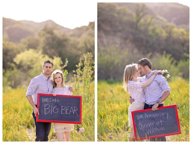 romantic engagement in the CA wilderness
