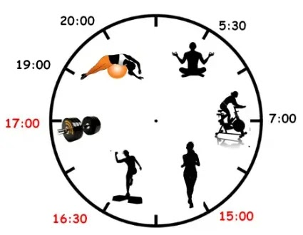 What is the best time to work out?