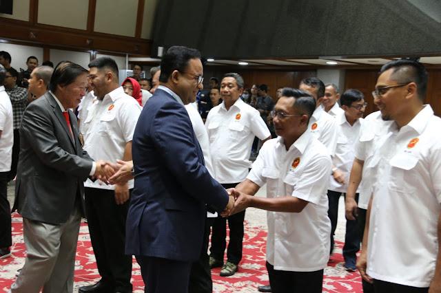 Kukuhkan Pengurus Persatuan Golf Indonesia DKI Jakarta, Anies Harapkan Kembangkan Bibit Atlet