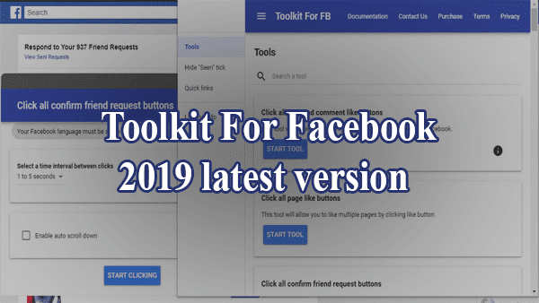 Facebook Social Toolkit 2019 Download || Toolkit For Facebook 2019 latest version for free
