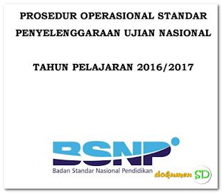 Download Prosedur Operasional Standar (POS) UASBN 2017