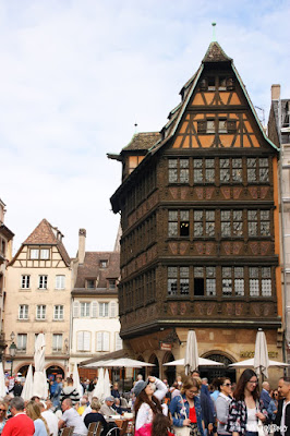 La Maison Kammerzel è una delle case più belle di Strasburgo