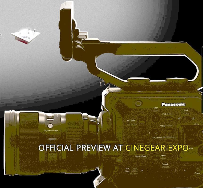 Новая кинокамера Panasonic Varicam