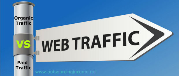 Organic Traffic Vs Paid Traffic - Website Traffic Promotion